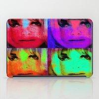 kris tate iPad Cases featuring Sharon Tate by Ganech joe