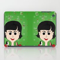 amelie iPad Cases featuring Amelie Poulain by Camila Oliveira