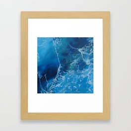 Just For Now Framed Art Print