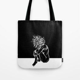 Blossom in the Void Tote Bag