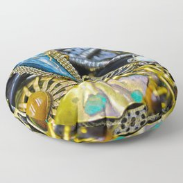 Jewelry Cluster 1 Floor Pillow