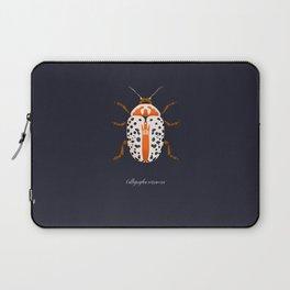 Calligrapha Beetle Laptop Sleeve