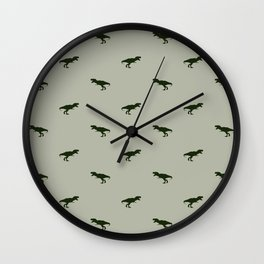 Rex Pattern Wall Clock