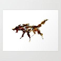 El lobo Art Print