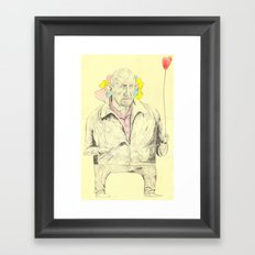 Mike Ehrmantraut Framed Art Print