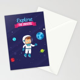 Explore the Univers Stationery Cards