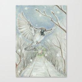 December Boulevard Canvas Print