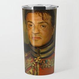 Sylvester Stallone - replaceface Travel Mug