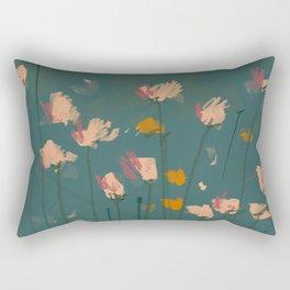 A Field Of Flowers Bloom Rectangular Pillow