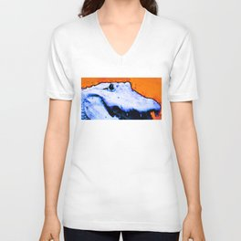 Gator Art - Swampy - Florida - Sharon Cummings Unisex V-Neck