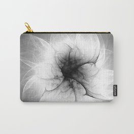 Ghost Flower Fractal Carry-All Pouch