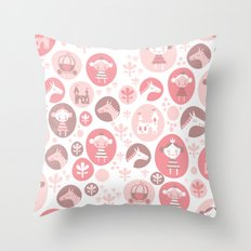 Happy Princess Throw Pillow