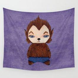 A Boy - Werewolf Wall Tapestry