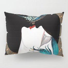 Butterfly Kiss Art Deco Remix Pillow Sham
