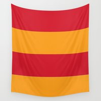 gryffindor Wall Tapestries featuring Gryffindor by Yajaira Gomez