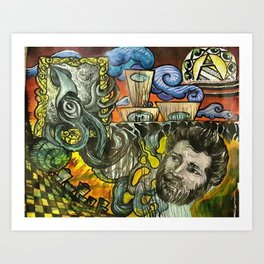 Krackin' Space Art Print