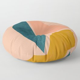 Three Shapes Of Change Floor Pillow