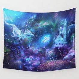 Water Dragon Kingdom Wall Tapestry
