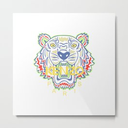 kenzo new hot tiger 2017 Metal Print