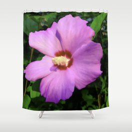 Rose OF Sharon In Mid Summer Shower Curtain