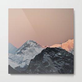 Himalaya Mountains II Metal Print