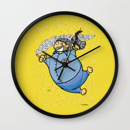 Virtue of vices Wall Clock