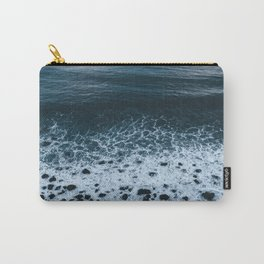 Iceland waves and shapes - Landscape Photography Carry-All Pouch