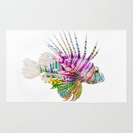 When I Dream of Lionfish Rug