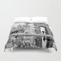 madrid Duvet Covers featuring Madrid reflections by PabloEgM