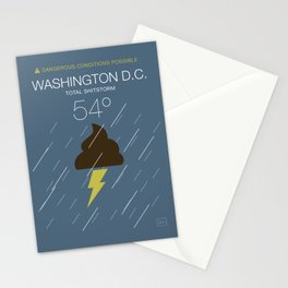 Total Shitstorm Stationery Cards