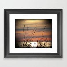 Grassy Breezes Framed Art Print