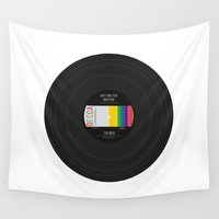 vinyl Wall Tapestries featuring Vinyl by Long Weekend