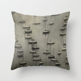 In The Bay Throw Pillow