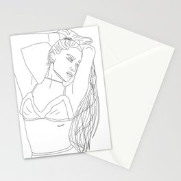 God is a Women Stationery Cards
