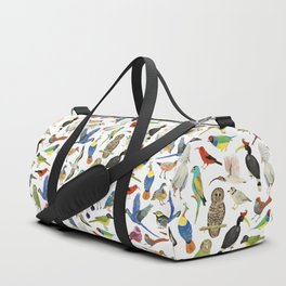 Endangered Birds Around the World Duffle Bag