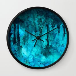 Cenote Wall Clock