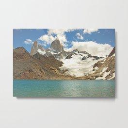 Patagonia, Torres del Paine, Chile Metal Print