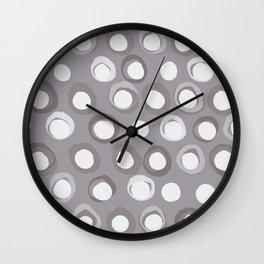 Feng Shui Element Metal Wall Clock