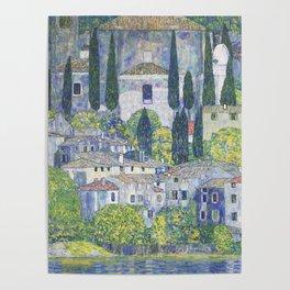 Gustav Klimt Church in Cassone Poster
