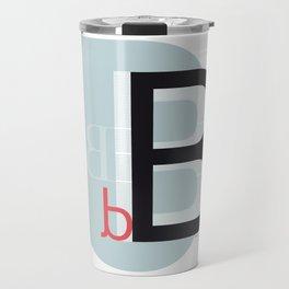 B b Travel Mug