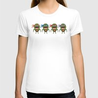 turtles T-shirts featuring Screaming Turtles by That Design Bastard