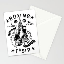 Boxing Stationery Cards