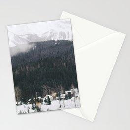 Alpine Village Stationery Cards