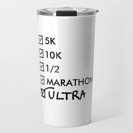 Ultra Marathon Running Travel Mug