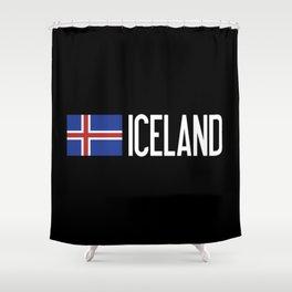 Iceland: Icelandic Flag & Iceland Shower Curtain
