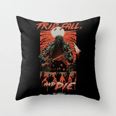 Every Slasher Movie Throw Pillow