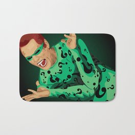 The Riddler  Bath Mat