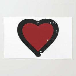 Ink Splattered Hart Rug