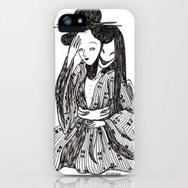 ''gueisha'' iPhone Case