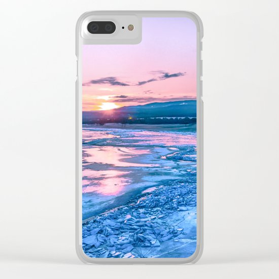 Baikal sunrise Clear iPhone Case